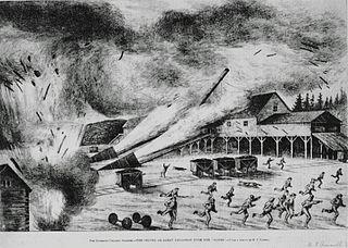 Drummond Mine explosion