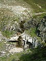 Dry Waterfall at head of Allt nan Uamh Valley - geograph.org.uk - 1022817.jpg