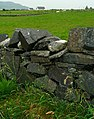 Dry stone wall near Dunfanaghy - geograph.org.uk - 901188.jpg