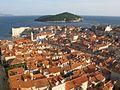 Dubrovnik depuis les remparts (autre vue).JPG