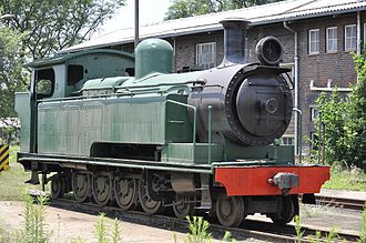 South African Class A 4-8-2T - SAR Class A Belpaire no. 196, ex NGR no 133, at Masons Mill, Pietermaritzburg, 10 December 2010