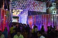 Durga Puja Pandal with Spectators - Ballygunge Cultural Association - Lake View Road - Kolkata 2014-10-02 9144.JPG