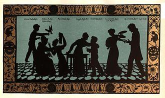 Die Familie Duttenhofer, um 1820 (Quelle: Wikimedia)