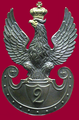Eagle of officer of 2nd Infantry Regiment of Congress Poland.PNG