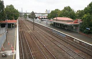 East Richmond railway station, Melbourne