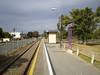 Grange railway line - Image: East Grange Railway Station Adelaide