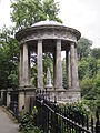 East Facing Exterior of St Bernard's Well.JPG