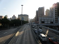 East Kowloon Corridor (north ending).JPG
