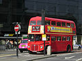 East London Routemaster bus RM1933 (ALD 933B) heritage route 15 Byward Street 13 April 2007.jpg