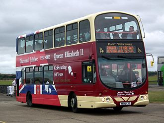 East Yorkshire Motor Services - Wright Eclipse Gemini bodied Volvo B7TL in September 2012