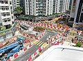 East underground concourse of Whampoa Station under construction in September 2015.jpg
