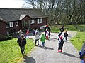 Easter Egg rolling in front of Browhill House - geograph.org.uk - 1218006.jpg