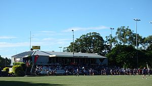 Easts Tigers Rugby Union - Grand Stand at Bottomley Park.