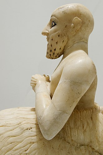 Statue of Ebih-Il - Image: Ebih Il Louvre AO17551 n 04