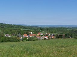 Blick auf Eckersweiler