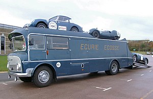 Ecurie Ecosse - The restored Ecurie Ecosse Car Transporter