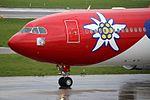 Edelweiss Air Airbus A330-343 HB-JHQ (33400593094).jpg
