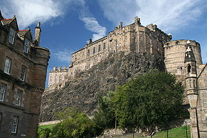 Operation Fortitude - Edinburgh Castle, headquarters of the fictional British Fourth Army during Operation Fortitude
