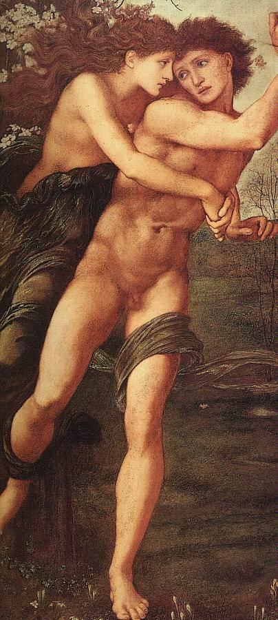 Edward Burne-Jones Phyllis and Demophoon 1870