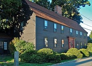 Edward Harraden House - Edward Harraden house at 14 Leonard Street