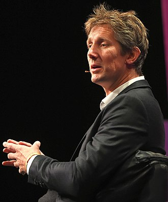 Edwin van der Sar - Van der Sar at the 2015 Web Summit, Dublin