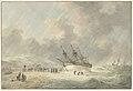 Een gestrand schip, objectnr TA 10660.jpg