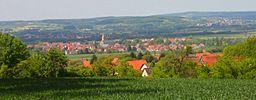 Blick auf Eggolsheim.