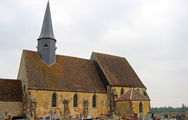 The church in Le Favril