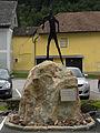 Eisenerz - Mario-Stecher-Platz - Denkmal für Mario Stechers WM- und Olympiaerfolge.jpg