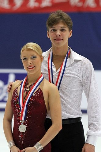 Ekaterina Bobrova - Bobrova with Soloviev in 2010