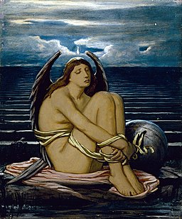 Elihu Vedder - Soul in Bondage - Google Art Project (mwFWSnRRJpG1ZA)