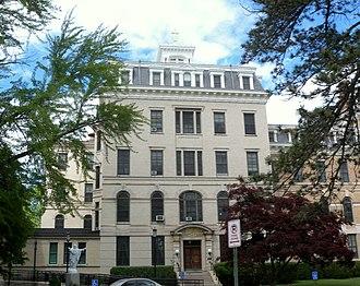 College of Saint Elizabeth - Image: Elizabeth convent mansarded bldg jeh
