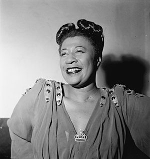 "Jazz royalty - Jazz singer Ella Fitzgerald was nicknamed the ""Queen of Jazz""."