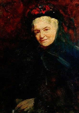 Ellen Nussey - Ellen Nussey by Frederic Yates