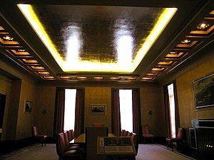 Eltham Palace - Art deco dining room
