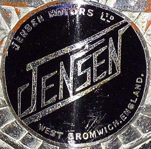 Jensen Motors - Image: Emblem Jensen 1950
