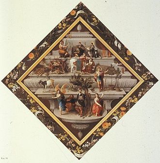 Violieren - Image: Emblem of the Rhetoric group De Violieren of Antwerp FFII