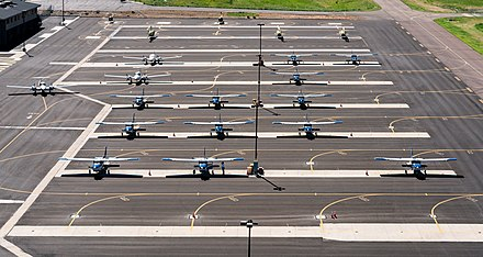 Embry-Riddle Aeronautical University Prescott's Flightline.jpg
