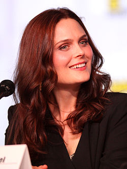Emily Deschanel San Diegon Comic-Conissa 2012.
