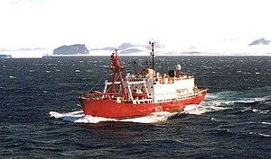 HMS Endurance (1967) - HMS Endurance (formerly Anita Dan)