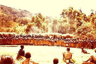 Enga Province - Enga men's gathering