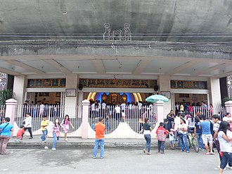 Davao Cathedral - Cathedral entrance