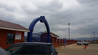 Machakos - Entrance to Machakos People's Park