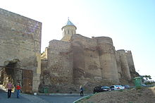 Entrance to the Narikala Fortress.JPG