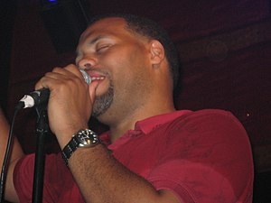 Eric Roberson - Roberson performing in 2007