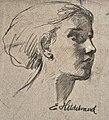 Ernst W. Hildebrand - Weibliches Porträt.jpg