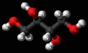 Erythritol - Image: Erythritol 3D ball