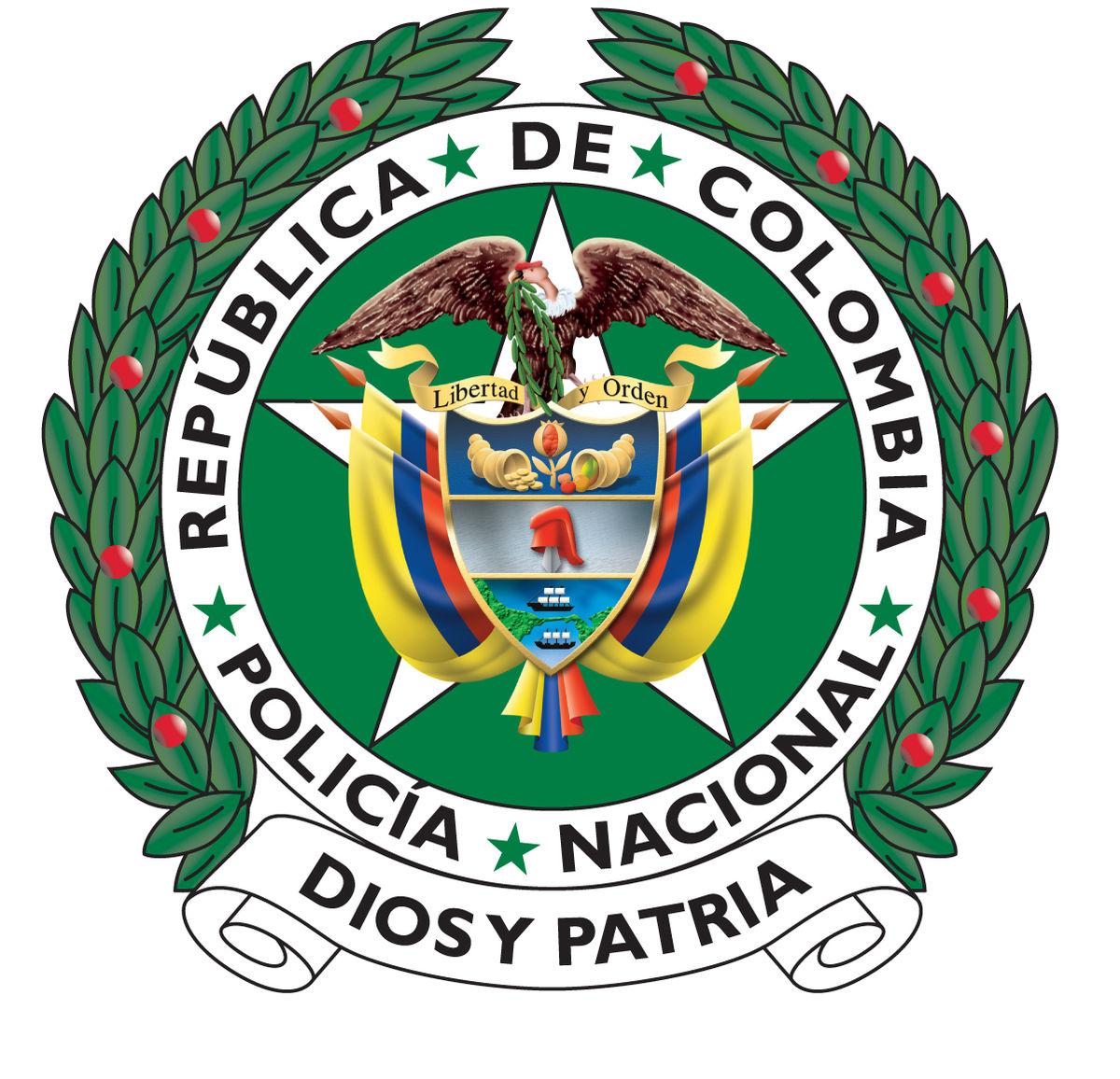File Escudo Policia Nacional De Colombia Jpg Wikimedia Commons