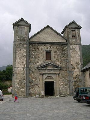 Orbaizeta - Old church in Orbaizeta