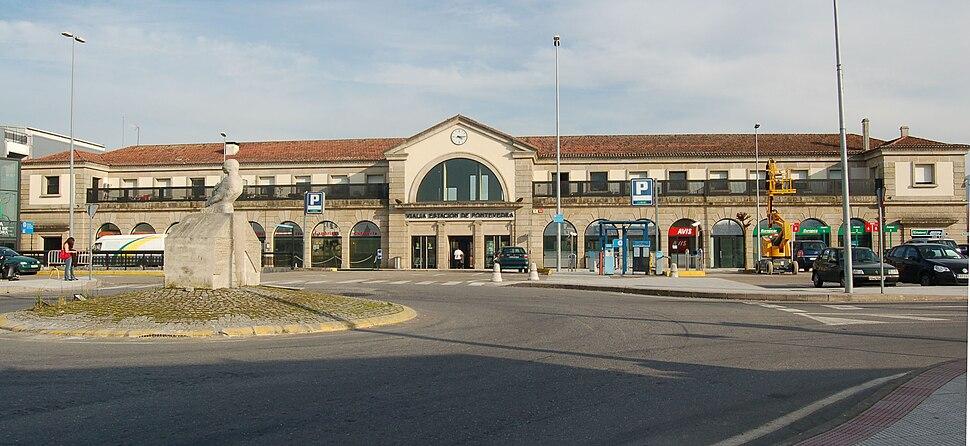 Estación de ferrocarril de Pontevedra (28-01-2008)